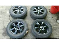 Vw T5 Alloy wheels swamper look A/T tyres