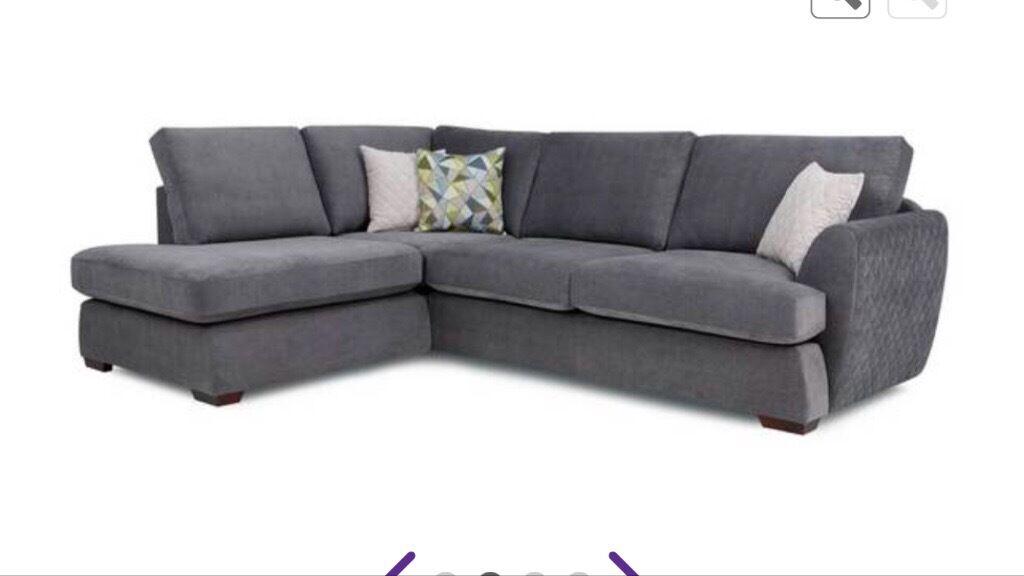 Dfs Karisma Corner Sofa Only 1 Month Old In Chard Somerset