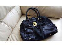 Used Amazing handbag authentic black monogram - LOUIS VUITTON