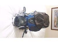 Deuter Kid Comfort II child carrier/rucksack (Blue) - Premium Quality in Excellent Condition