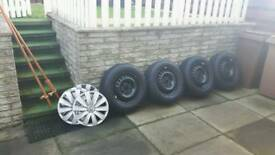 "16"" wheels for VW T6"