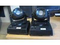 PAIR Chauvet Intimidator Wash LED 150 RGBW Moving Head DMX Lights