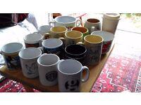 £5 - £25 collectible mugs for sale, Disney, Starwars, VJ Day, Starbucks, bone china poppies