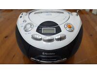 Radio CD Player Portable. Roadstar