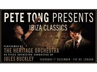 Pete Tong Ibiza Classics @ O2 tomorrow night
