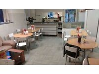 A Cafe& Restaurant be sold.Location-Imex Business Park, Hamilton Road, Manchester,This is a bargain!