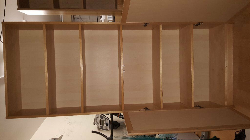 Billy Bookcase Half Doors : Ikea billy bookcase with half doors Buy, sale and trade ads