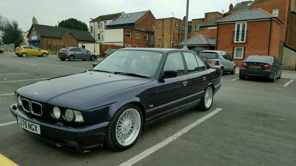 1994 bmw 530 e34 v8 with bbs wheels in southampton hampshire gumtree. Black Bedroom Furniture Sets. Home Design Ideas