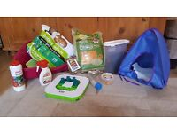 Rabbit / Small animal Hutch with toys, food and accessories