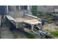 2005 ifor williams gx 84 8ft X 4ft braked plant trailer ramptailgate recent steel floor no vat
