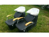 Rem salon backwash chairs