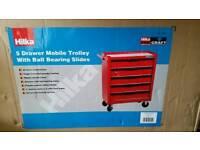 Hilķa 5 drawers mobile trolley