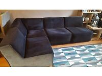 Left or right facing corner sofa