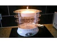 New 3 tier food steamer