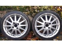 """Ford Fiesta MK6 Zetec S 4 x 16"""" Alloy Wheels and Tyres"""