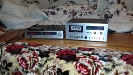 FERGUSON Amp+Tape player Separates