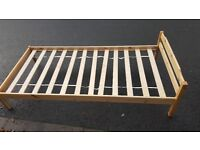 ** Wooden single bed ***