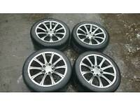 "17"" bmw style alloy wheels 5x120 ( bmw vivaro primastar t5 traffic)"