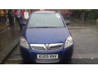 PCO car for sale Vauxhall Zafira 2009