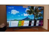 Like New LG 55UJ750V 55 inch LED SMART TV 4K ULTRA HD 2017 No Box