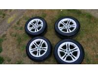 BMW 16 inch alloys and excellent 205 55 16 tyres