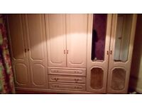 Need to sell by fri midday , offers welcome Large 6 door 3 drawer wardrobe offers welcome