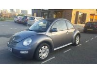 2005 VW Beetle 1.6l Manual. 2 Owners from new