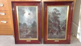 Pair of Vintage prints
