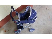 Hauck Dolls Pushchair and carry cot