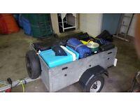 Full camping equipment plus trailer