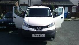 2014 Nissan NV200 van in perfect condition