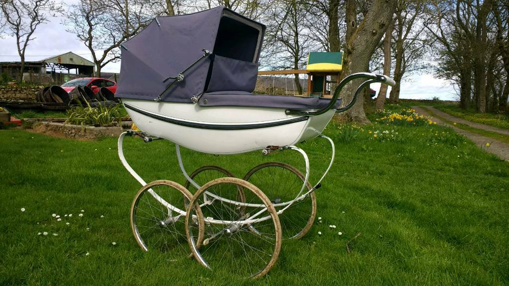Vintage 1950 60 S Silvercross Pram In Ellon