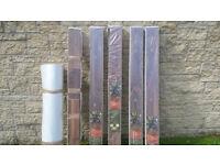 5 Packs of Natural Finest Walnut Laminate Flooring