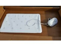 Baby breathing monitor sensor mat