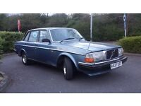 VOLVO 240 GL AUTO, ANTIQUE CAR, YEAR OF MANUFACTURING 1983, FRESH 1 YEAR MOT £1800