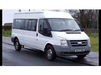 Exclusive minibus transport service