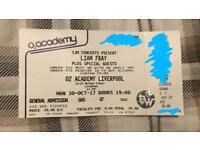 Liam Fray Liverpool Ticket