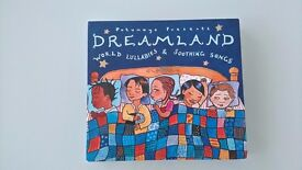 PUTUMAYO DREAMLAND WORLD LULLABIES & SOOTHING SONGS CD