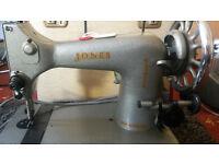 2 Vintage ''JONES'' Sewing Machines