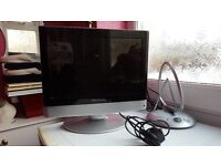 """Television - Wharfdale Portable 15"""" c/w Indoor Aerial"""
