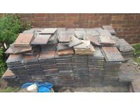 700 x 1930's Rosemary Oakwood Roof Tiles