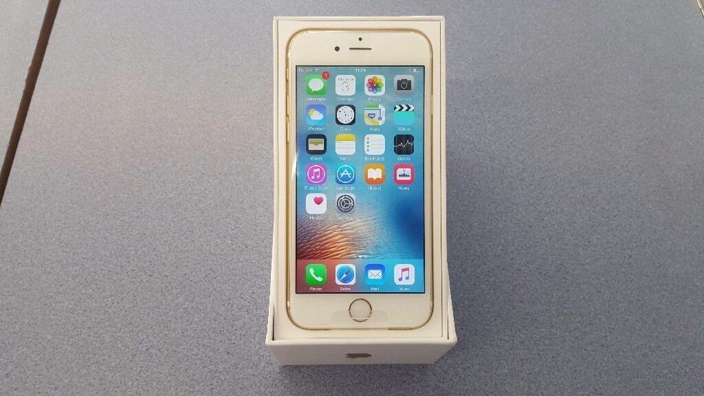 APPLE IPHONE 6S 16GB BRAND NEW WITH WARRANTY AND RECEIPTin Coventry, West MidlandsGumtree - APPLE IPHONE 6S 16GB BRAND NEW APPLE REPLACEMENT ON THE EE NETWORK GOLD IN COLOUR COMES IN A PLAIN APPLE REPLACEMENT BOX WITH A STANDARD CHARGER APPLE WARRANTY TILL 9 OCTOBER 2017 RECEIPT PROVIDED TEL 024 76231562 MANY THANKS