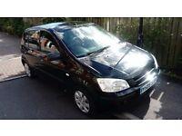 Hyundai Getz GSI, manual, 5 doorhatch back in black. Reliable, excellent runner with 11 months MOT!