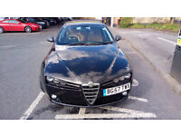 Alfa Romeo 159, 127k miles, 1.8MPi, LPG Lovato fitted 7 months ago, second owner from new.