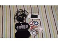 PlayStation Portable (PSP) White with games