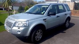 LAND ROVER FREELANDER 2, 2.2 SE. AUTOMATIC JUST SERVICED AND MOT