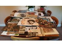 40 Record LD collection Beatles Rolling Stones Bob Dylan Leonard Cohen Cream U2 Troggs Fairport