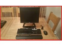 DELL 745 ALL IN ONE PC WITH SCREEN + STAND + WIN 7 + MICROSOFT OFFICE