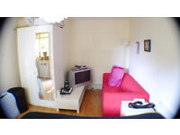 LARGE DOUBLE BEDROOM WITH A GARDEN IN A FLAT SHARE CLOSE TO ELEPHANT & CASTLE FOR A COUPLE