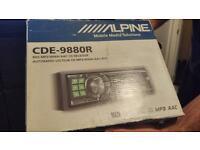 ALPINE CDE-9880R car stereo cd player